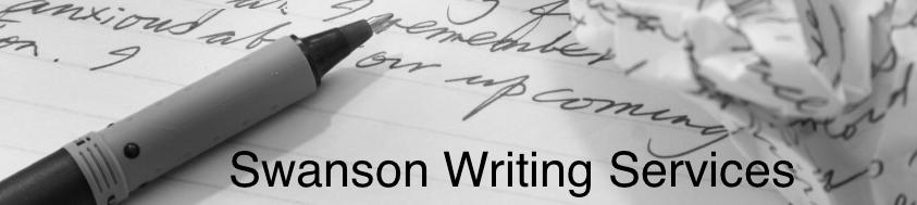 Swanson Writing